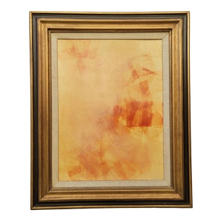 1970s Modern Abstract Collage, Framed For Sale