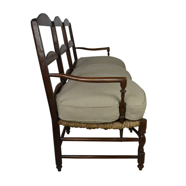 19th Century French Settee For Sale - Image 4 of 5