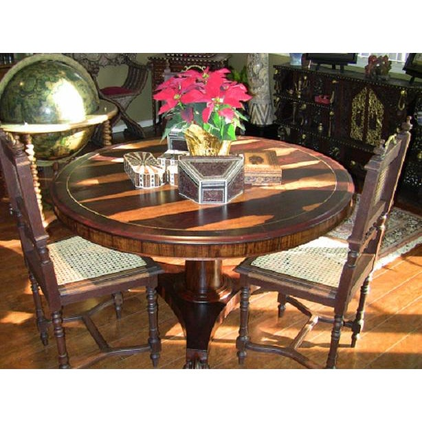 Presenting an ABSOLUTELY GORGEOUS Early 19th Century.....Regency.........Exotic Hardwood Tilt-top Center Table. The Patina...