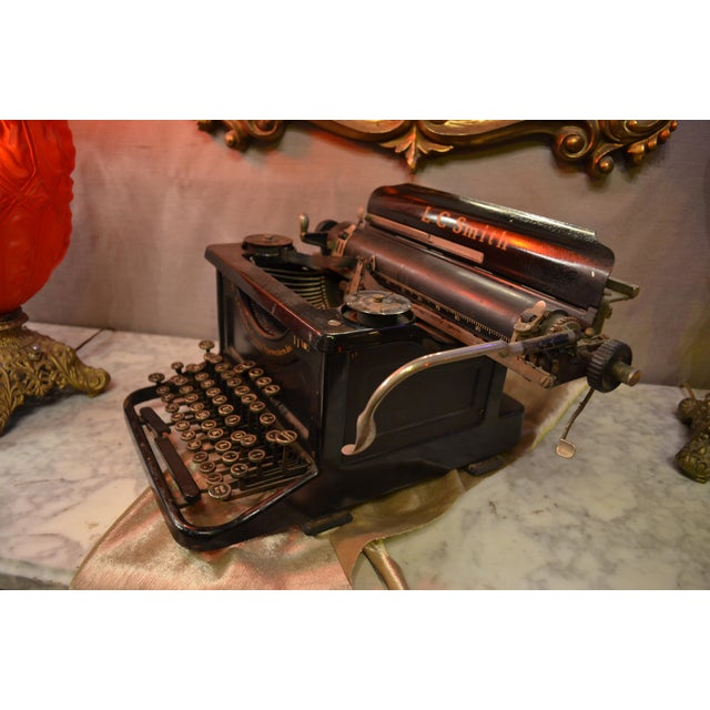 Industrial Lc Smith & Corona Typewriter For Sale - Image 3 of 7