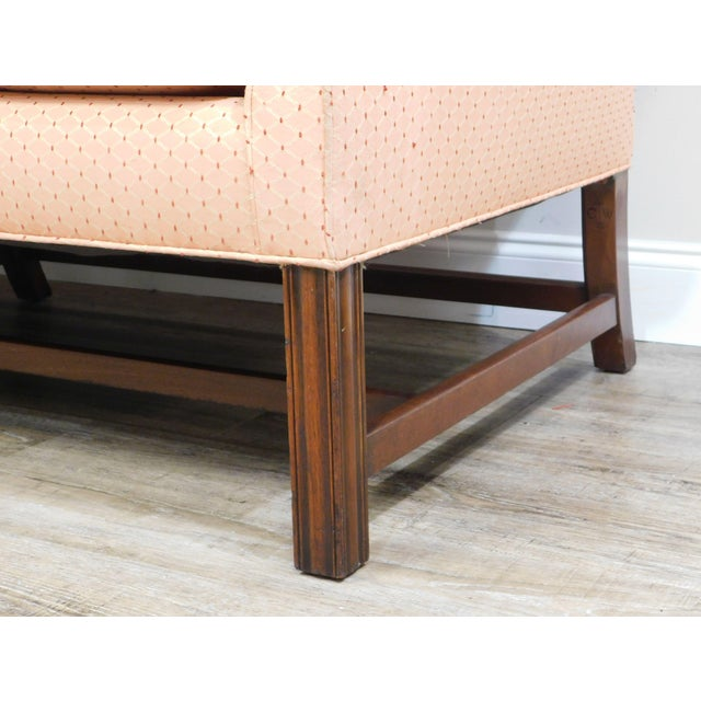 Kittinger Colonial Williamsburg Mahogany Chippendale Sofa For Sale - Image 10 of 13