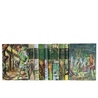 Emerald Junior Library Book Set, S/10 For Sale