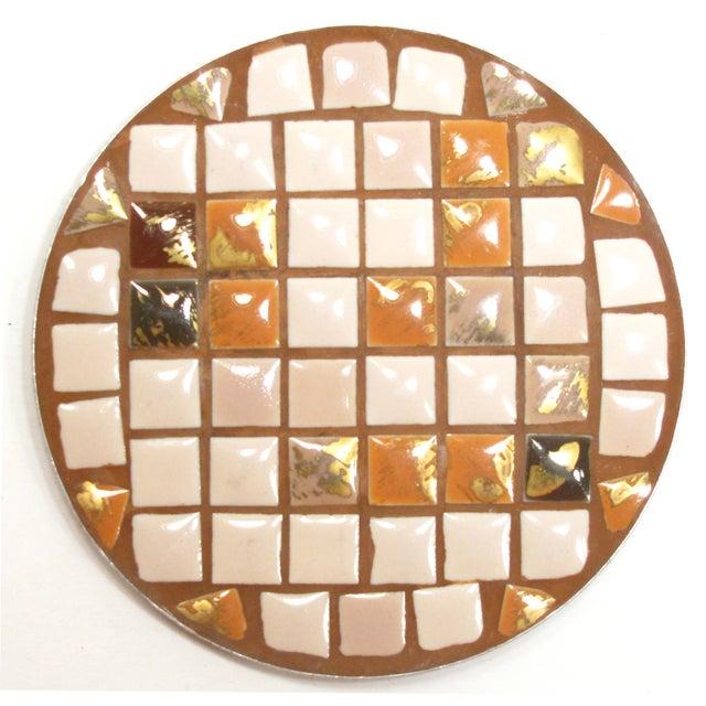 Mid-Century Mosaic Tile Coasters - Set of 8 - Image 3 of 3