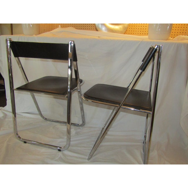 Aarben Italian Folding Chairs - A Pair - Image 7 of 7