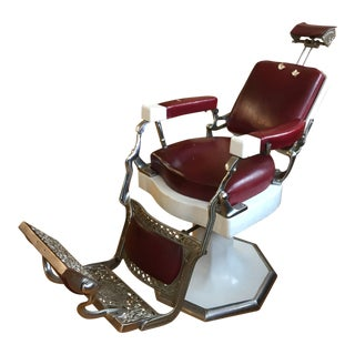 Antique Koken Barber Chair For Sale