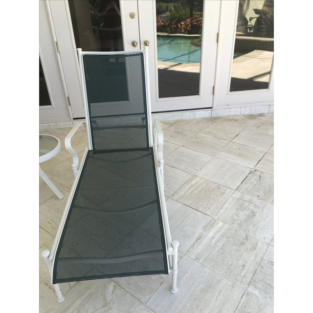 Woodard Nantucket Sling Outdoor Chaises - Set of 4 For Sale - Image 6 of 6