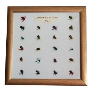 Mounted Salmon & Sea Trout Flies