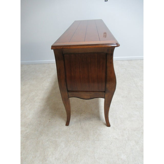 Brown Drexel Heritage Country French Commode For Sale - Image 8 of 13