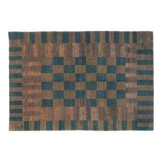 Not All Squares Freshwater, 6 x 9 Rug For Sale