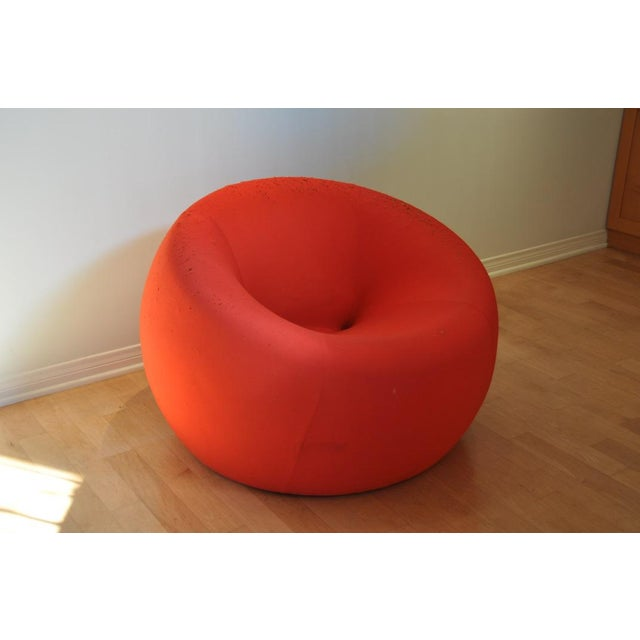 B&B Italia Up1 chair. This is a modern classic foam chair that is covered with a stretchy red fabric. In addition to its...