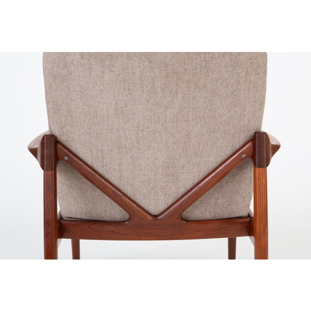 Model 125 Lounge Chair by Tove & Edvard Kindt-Larsen for France & Son For Sale - Image 9 of 13