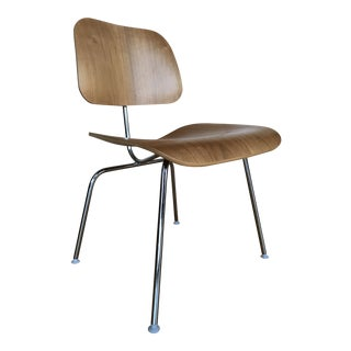 Eames for Herman Miller Walnut Dcm Dining Chairs For Sale