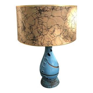 Mid-Century Modern Atomic Ceramic Lamp For Sale