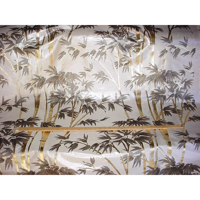 Kravet Kravet Couture Asian Chic Embossed High Shine Silk Upholstery Fabric - 9-3/4y For Sale - Image 4 of 5
