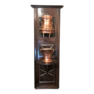 Antique French Provincial Copper Lavabo, Circa 1890. For Sale