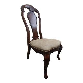 Modern Thomasville Furniture Ernest Hemingway Granada Dining Side Chair For Sale