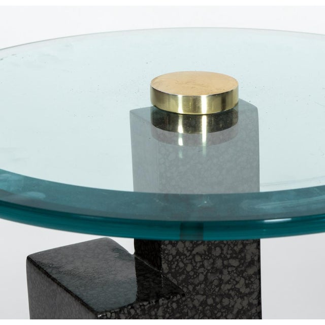 Final Markdown Art Deco Sculptural Side Tables - Image 3 of 4
