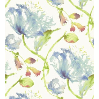 Tuileries Wallpaper by Anna French - Sample For Sale