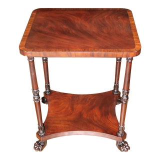 Traditional Maitland-Smith Side Table For Sale