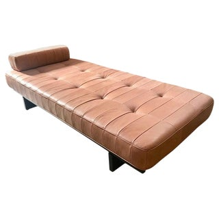 Vintage De Sede Ds 80 Patchwork Leather Daybed, Switzerland 1960s For Sale