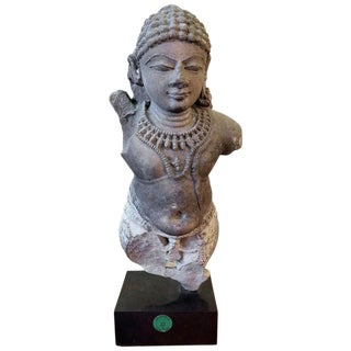 Varmana Buff Sandstone Sculpture, Central India For Sale