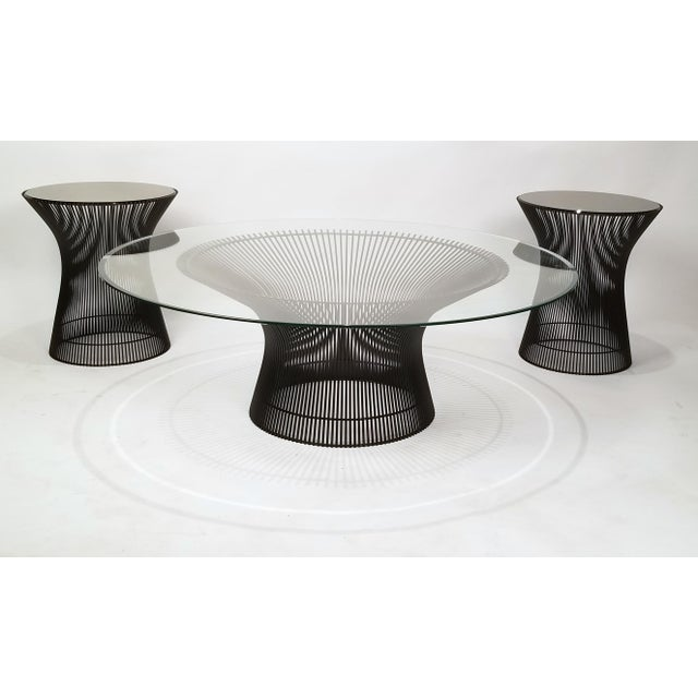 1960s Early Warren Platner Bronze Coffee Table by Knoll, 1966 For Sale - Image 5 of 8