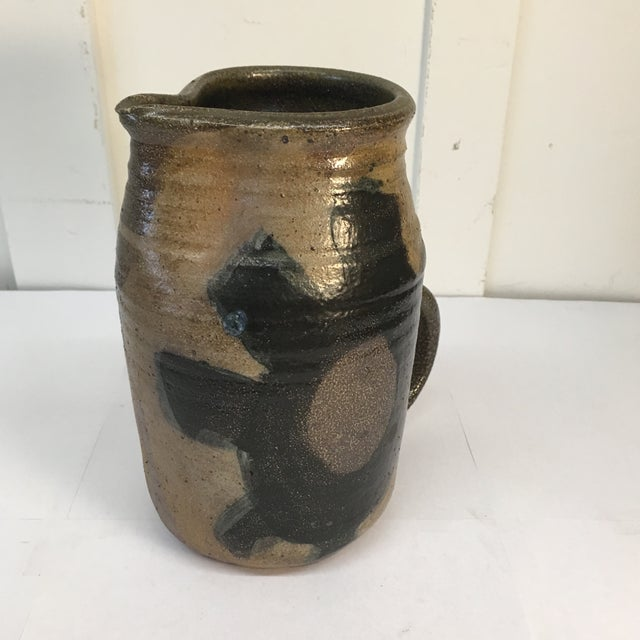 Vintage Hand Crafted Ceramic Pitcher - Image 6 of 8