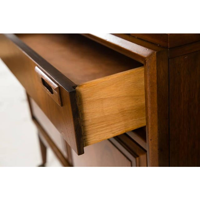 Mid-Century Custom Flip-Top Bar Cabinet - Image 9 of 10