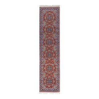 One-Of-A-Kind Persian Hand-Knotted Area Rug, Cherry, 2' 8 X 10' 10 For Sale