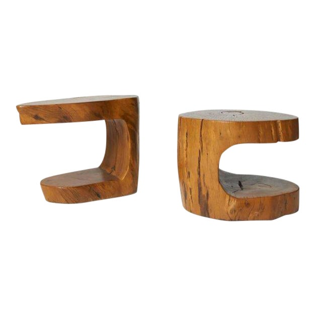 Pair of Side Tables by Hugo Franca For Sale