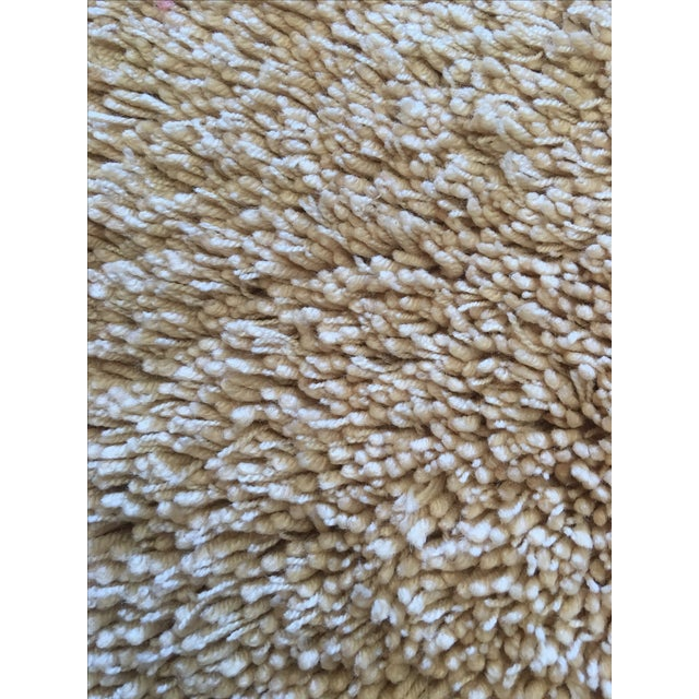 """Turkish Hand Knotted Wool Rug - 4'10"""" X 6'9"""" - Image 4 of 5"""