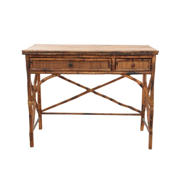 Split Bamboo Desk - Image 1 of 6