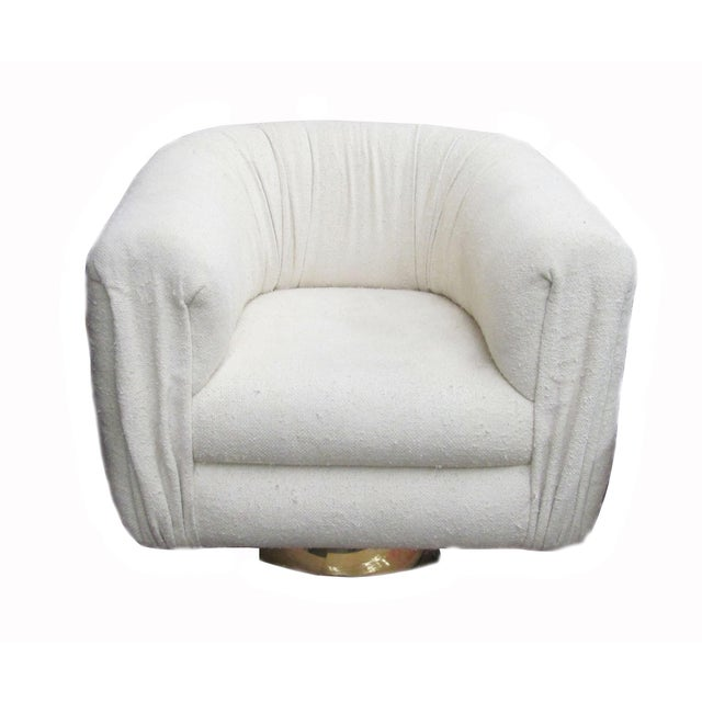 Mid-Century Modern Swivel Club Chair by Martin Brattrud For Sale In Los Angeles - Image 6 of 6