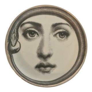 Piero Fornasetti Tema E Variazioni Coaster Plate For Sale