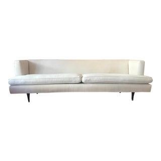 1950s Mid-Century Edward Wormley for Dunbar Arm Sofa #4907 For Sale