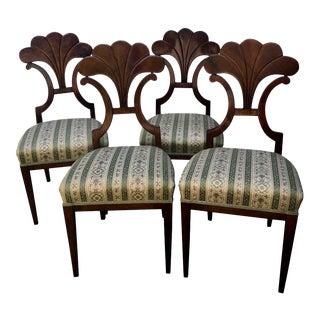 Vintage Biedermeier Chairs - Set of 4 For Sale