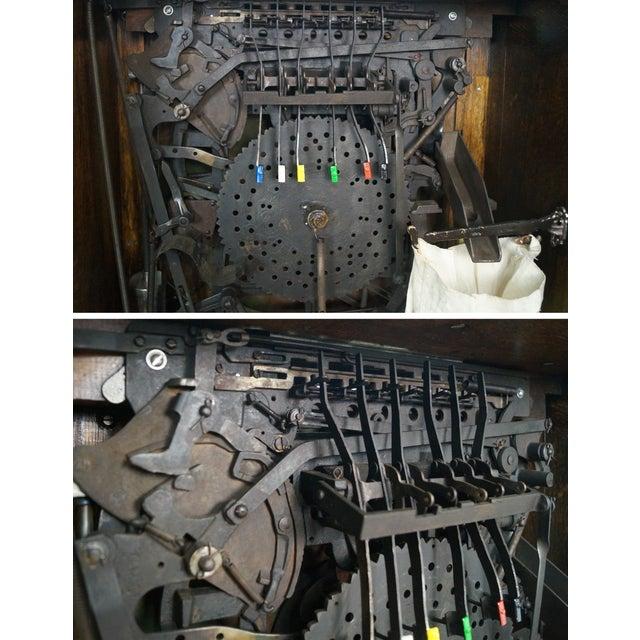 The Dewey Antique Oak Upright 5 Cent Slot Machine - Image 9 of 10