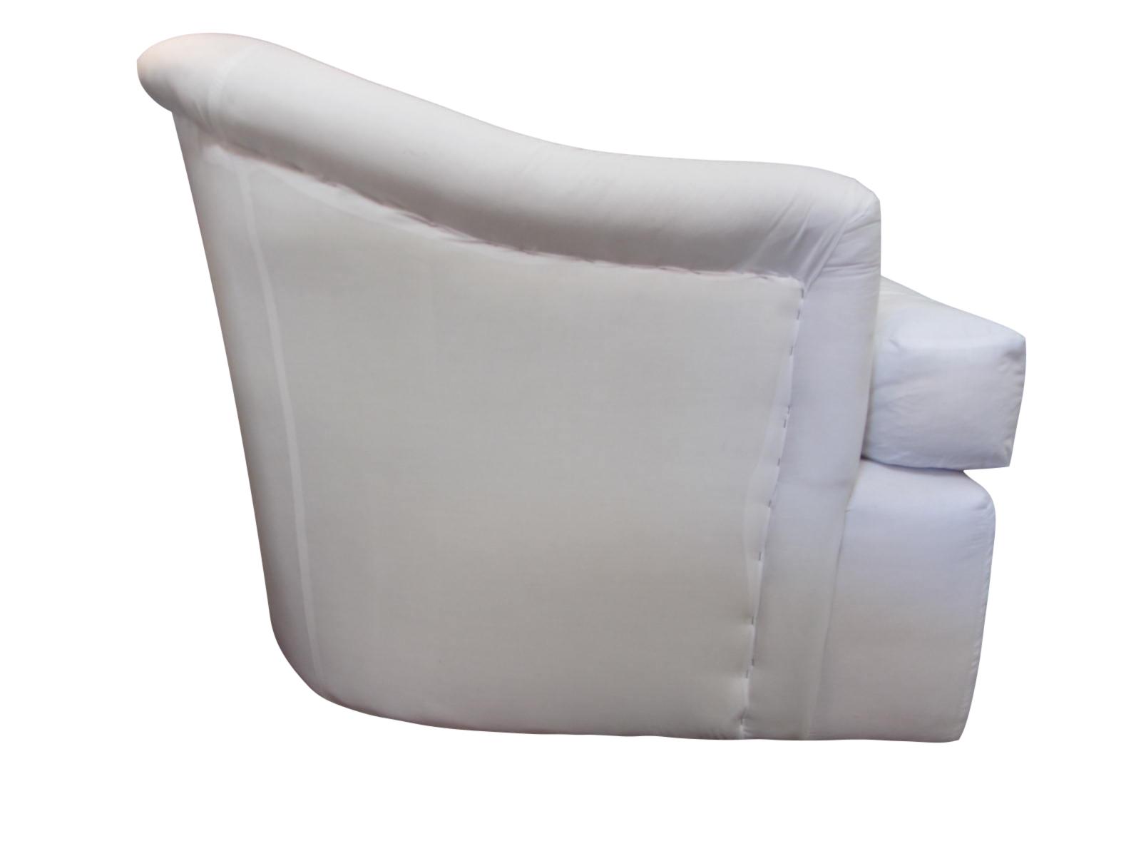 Contemporary A. Rudin Swivel Chairs u0026 Ottoman For Sale - Image 3 ...  sc 1 st  Chairish & A. Rudin Swivel Chairs u0026 Ottoman   Chairish