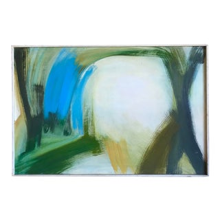 Mid-Century Modern Abstract Gestural Painting by Charles Moore, 1965 For Sale