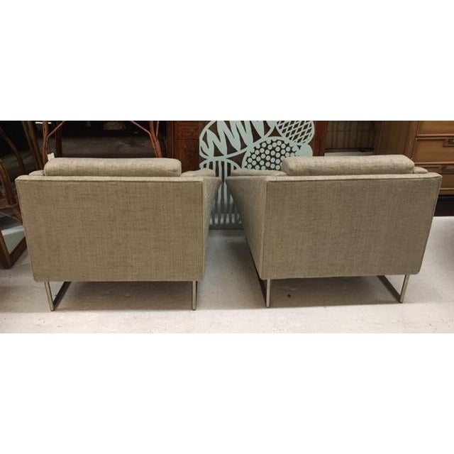 Contemporary Contemporary Club Chairs For Sale - Image 3 of 6
