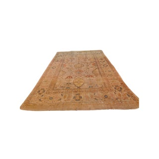 "Early 19th Century Antique Sultanabad-Ziegler Rug-8'1"" X 11'2"" For Sale"