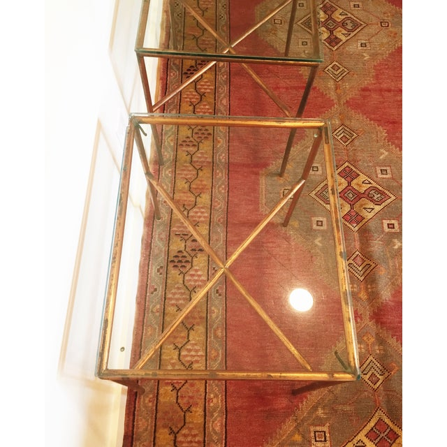 Vintage Copper Side Tables - A Pair - Image 4 of 6