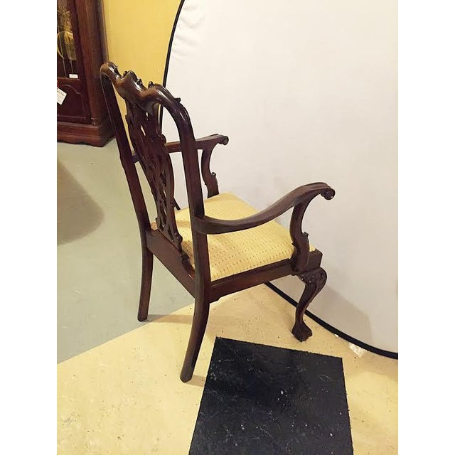 Georgian Style Dining Chairs - Set of 8 - Image 7 of 9