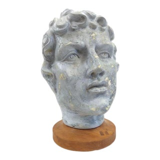 Mid-Century Bust of David For Sale