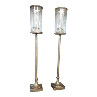 Theodore and Alexander Hurricanes, Candle Holders - a Pair For Sale