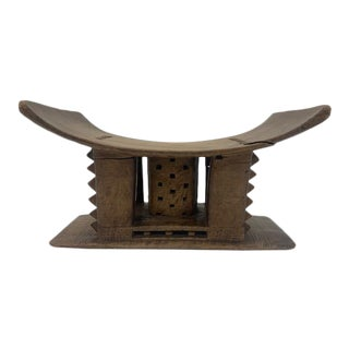 Mid 19th Century Ashanti Stool For Sale