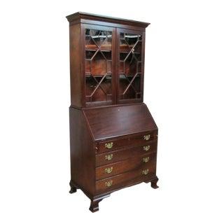 Kittinger Biggs Old Dominion Mahogany Secretary Desk For Sale