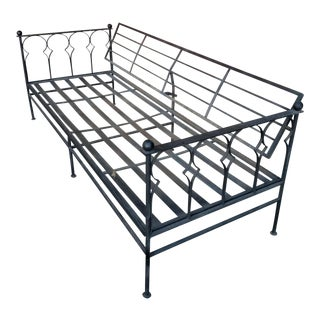 Iron Sofa With Adjustable Back Rest For Sale