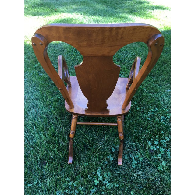 Tell City Balloon Back Rocking Chair - Image 2 of 8