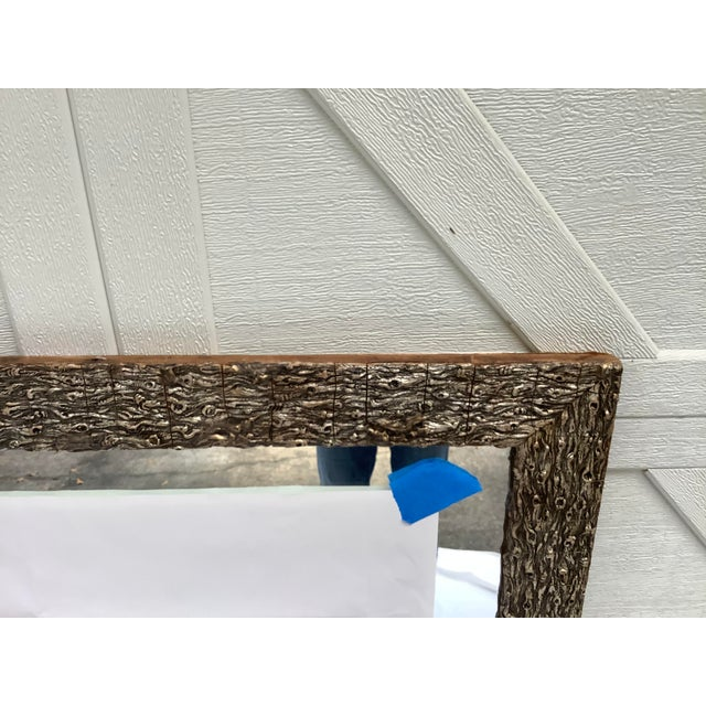 French Faux Bois Mirror For Sale In Atlanta - Image 6 of 13